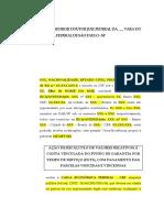 Modelo de Revisão Do FGTS - TR - Curso - Legale