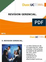 Revision Gerencial y Proceso de Certificacion de SSO