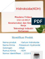 Kalium Hidroksida