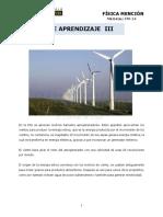 FM14 - Módulo de Aprendizaje N°3 - Energía