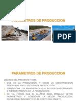 Item 05 Parametros de Produccion