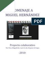 Proyecto Homenaje a Miguel Hernández