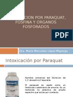 Intoxicacion Por Paraquat, Fosfina y Organos Fosforados