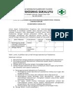 Pola Ketenagaan Dan Persyaratan Kompetensi Tenaga Laboratorium Puskesmas Sukaluyu