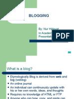 What is a Weblog?