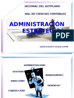 A. Administracion Estrategica