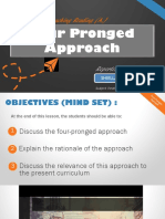Developmental Reading - Four Pronged Approach
