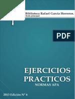 EJERCICIOS PRÁCTICOS. Normas APA Sexta edición.pdf