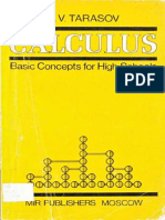 L.V. Tarasov-Calculus - Basic Concepts for High School  -MIR Publishers.pdf