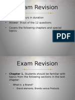 Exam Revsion