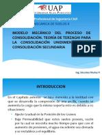 Modelo Mecánico Del Proceso de Consolidación2