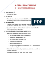 Estudos EBD 2104- Lição 10 - Escatologia