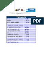 Catalogo Precios de Referencia Julio 2015
