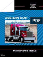 Western Star Maintenance Manual