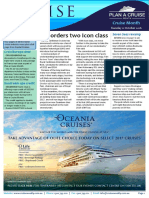 Cruise Weekly for Tue 11 Oct 2016 - RCI new class, Seven Seas Voyager, Broome, Cruise Month, Vard, Rome, Hurtigruten AMPERSAND more