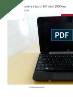 Convertí Obsoleta e Inutil HP Mini 1000 en Servidor Casero
