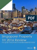 DREA 1H2016 Singapore Property Market Review