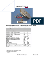 Launchpoint Halbach Motor Data Sheet r1