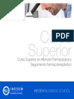 Curso Superior en Atencion Farmaceutica Y Seguimiento Farmacoterapeutico