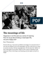 What is Better – a Happy Life or a Meaningful One_ _ Aeon Essays