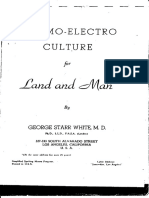 Cosmo Electro-Culture - George Starr White