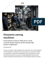 Arnold Toynbee Shines a Light on the Humanities' Role Today _ Aeon Essays