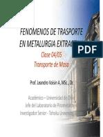 FTM Clase 21 Transporte de Masa 4