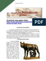 guia historia de roma