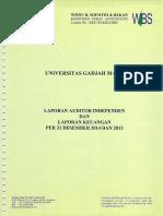 LK UGM 2014 Audited