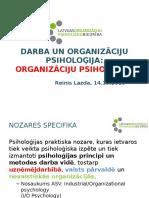 Organizāciju Psiholoģija 2