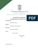 INFORME Nº2 Salchichas