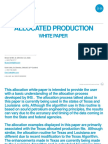 Allocated Production