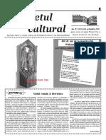 Răsunetul cultural nr 10 2016
