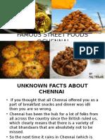 Best Street Food in Chennai