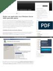 Https Virtualmin Wordpress Com 2010-04-21 Publier Une Application Sous Windows Server 2008 Premiere Partie