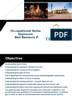 Presentasi Training (Noise)