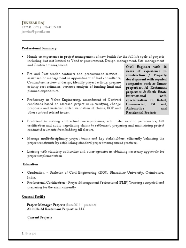 Jenefar Raj Jeyapaul United Arab Emirates 1603 Yrs Project