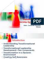 Transformation Leadership Development