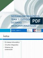 SI Tema1 Explotación de Sistemas Microinformáticos P1