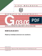 Normativ in Constructii NCM-G.03.02