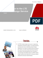 1 Introduction to the LTE Network Design Service