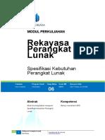 Modul 6 RPL Spesifikasi Kebutuhan PL.doc