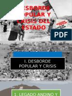 Desborde Popular y Crisis Del Estado