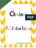 unidade ordem alfabética