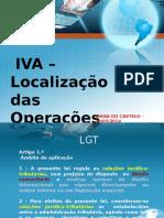 IVA Localização Das Operações