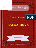 Balgarikya, ke Ivan Vazov