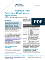Preparing Intensive Plant Agriculture Development Applications