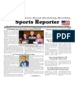 October 12 - 18, 2016  Sports Reporter