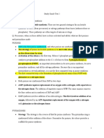 Study Guide T2 BioChem2