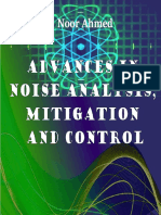 Advances in Noise Analysis Mitigation and Control